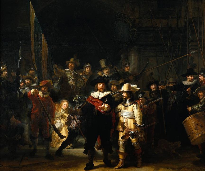 cuadro barroco de rembrant